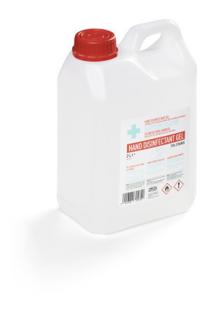 Durable 587519 - 2000 ml - Flasche - Flüssigkeit - Spread the gel over the entire surface in the hand and let it dry