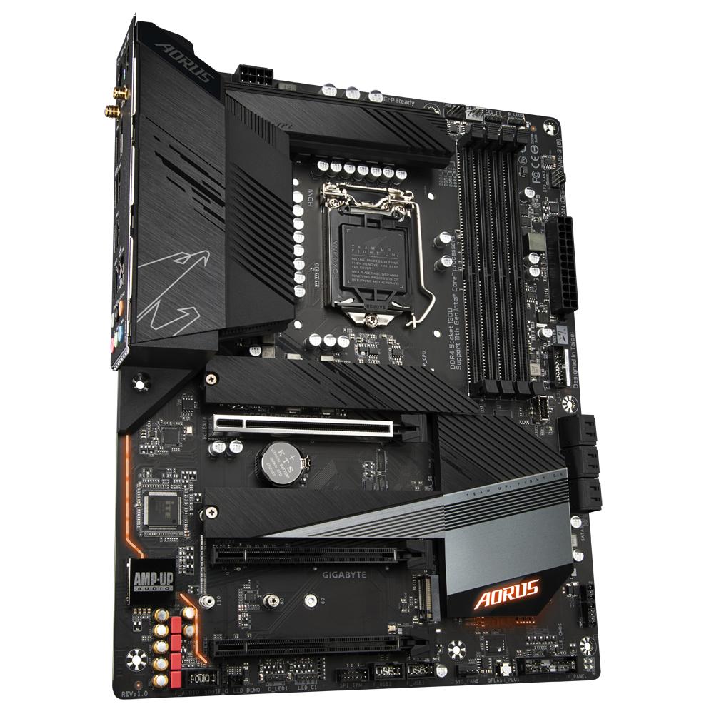 Gigabyte B560 AORUS PRO AX - 1.0 - Motherboard - ATX - LGA1200-Sockel - B560 - USB-C Gen1, USB 3.2 Gen 1, USB 3.2 Gen 2, USB-C Gen 2x2 - 2.5 Gigabit LAN, Wi-Fi, Bluetooth - Onboard-Grafik (CPU erforderlich)