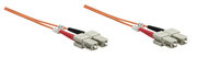 Intellinet 3m SC/SC 3m SC SC Orange Glasfaserkabel