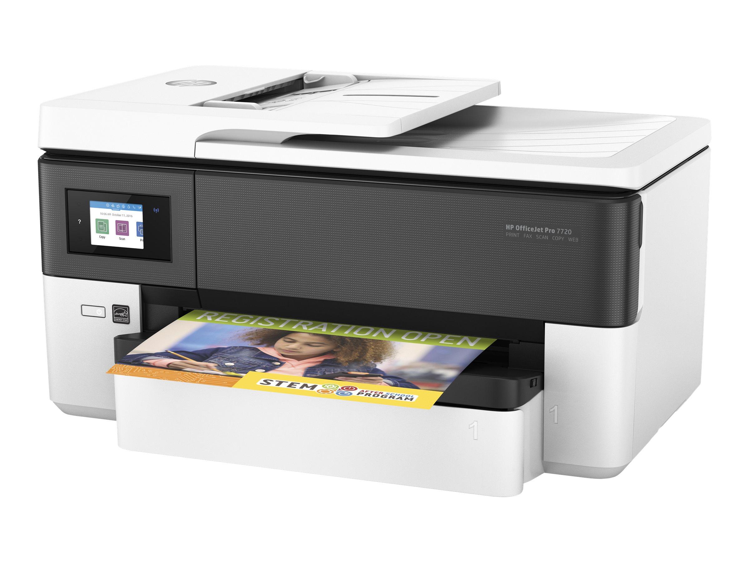 HP Officejet Pro 7720 Wide Format All-in-One