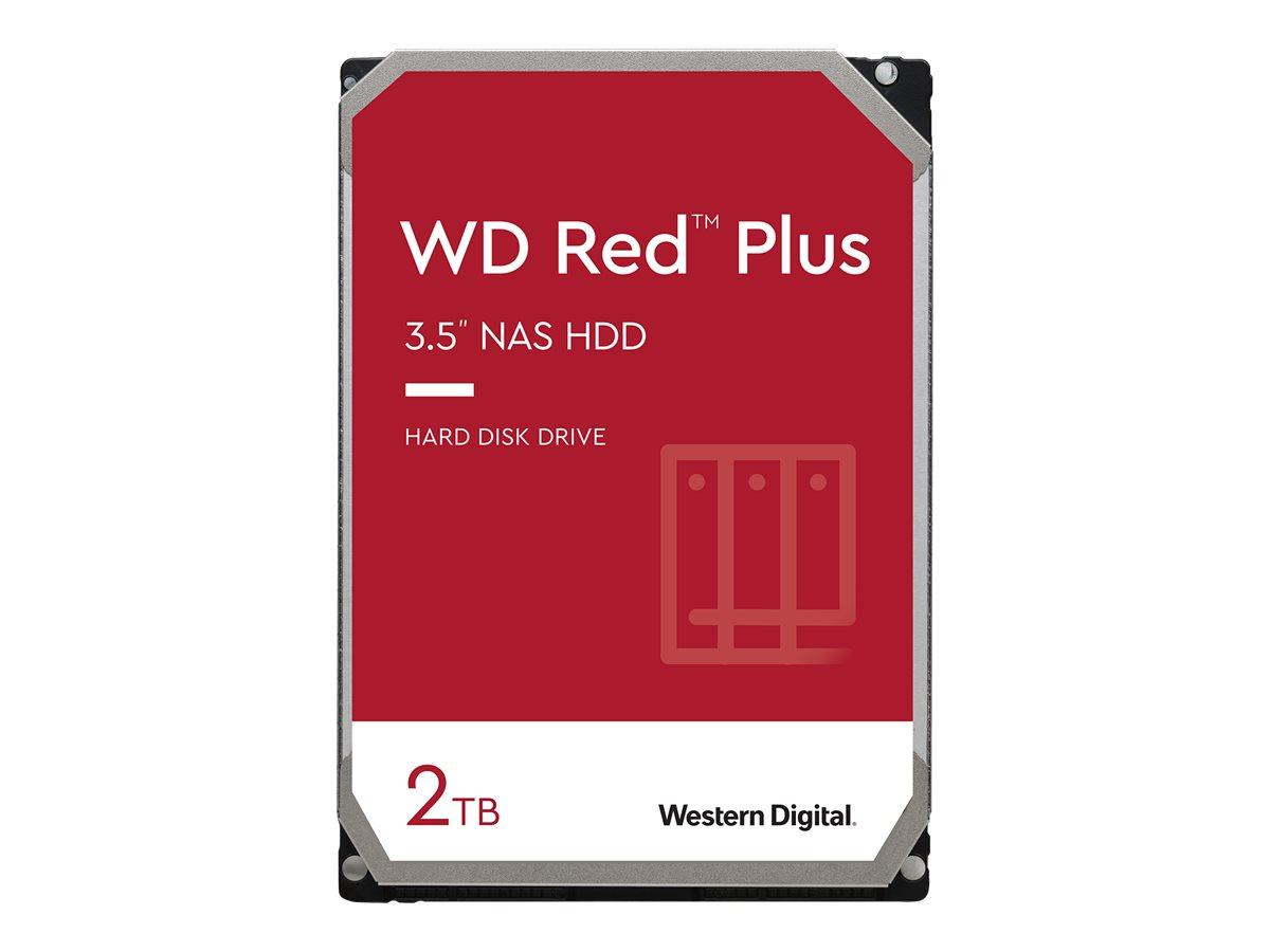 """Vorschau: WD Red Plus NAS Hard Drive WD20EFZX - Festplatte - 2 TB - intern - 3.5"""" (8.9 cm)"""