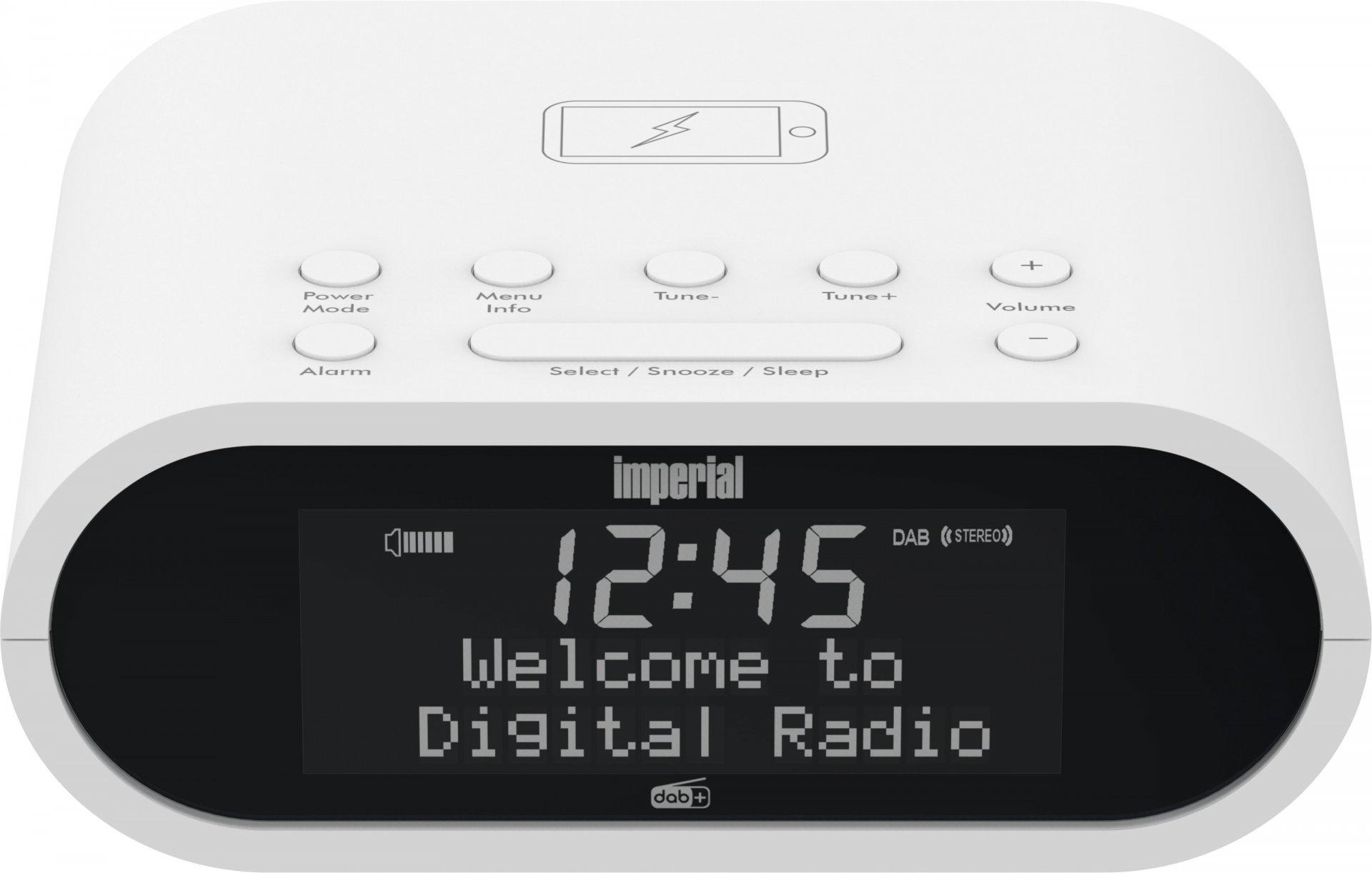 Telestar Dabman D20 - Uhr - Digital - DAB - DAB+ - FM - UHF - 87.5 - 108 MHz - 174 - 240 MHz - 1 W