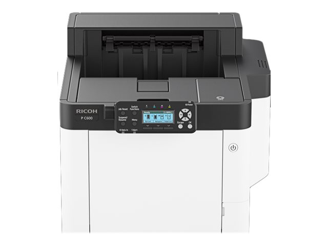 Ricoh C600 - Drucker - Farbe - Duplex - Laser - A4/Legal - 1200 x 1200 dpi - bis zu 40 Seiten/Min. (einfarbig)/