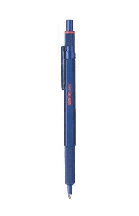 rOtring 600 - Clip - Clip-on-Einziehkugelschreiber - Nachfüllbar - Schwarz - 1 Stück(e)