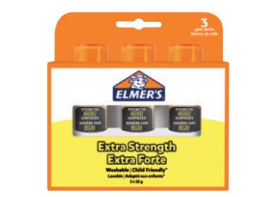 Elmers Klebestift Extra-Strength - 3er Blister