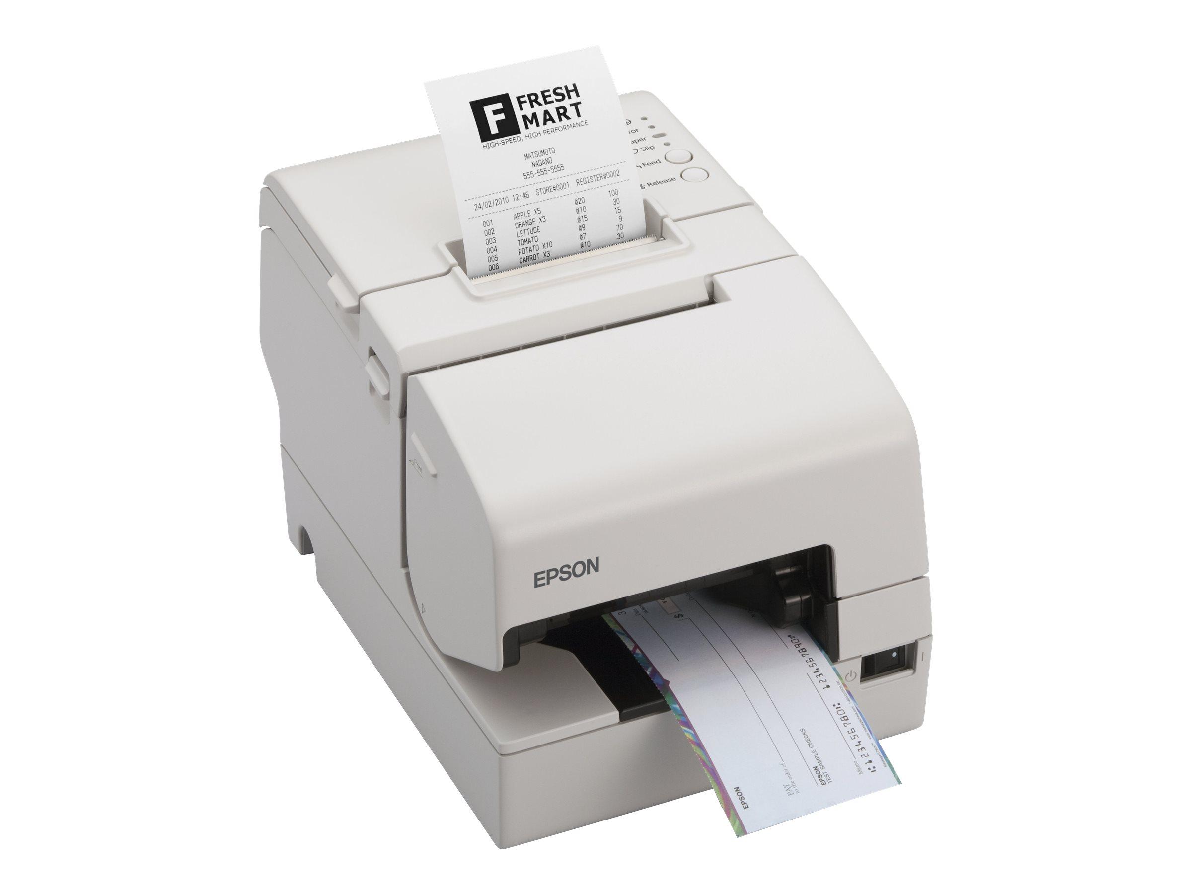 Epson TM H6000II - Belegdrucker - Thermozeile/Punktmatrix - 230 x 297 mm, Rolle (7,95 cm)