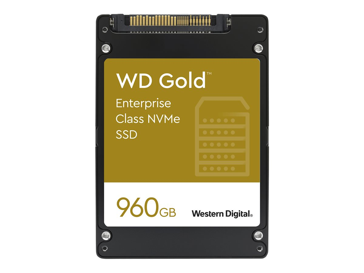 """WD Gold Enterprise-Class SSD WDS960G1D0D - Solid-State-Disk - 0.96 TB - intern - 2.5"""" (6.4 cm)"""