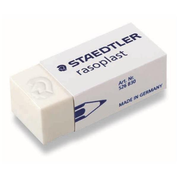 STAEDTLER Rasoplast - Weiß - 19 mm - 13 mm - 43 mm - 30 Stück(e)