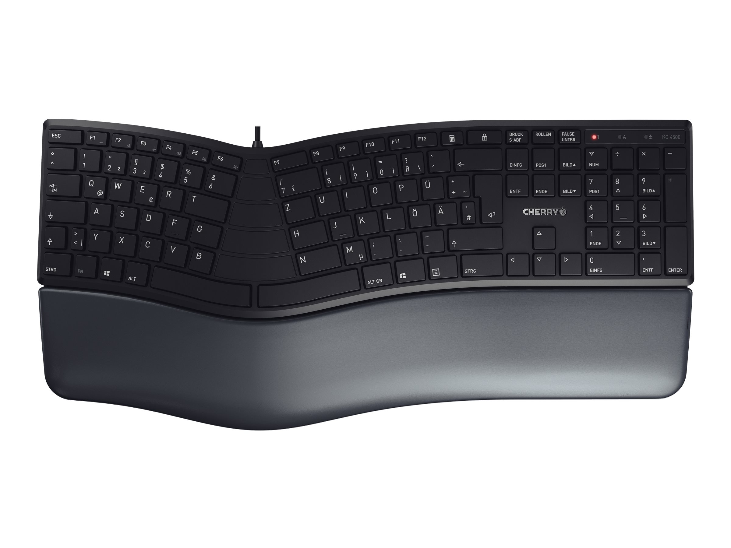 Cherry KC 4500 ERGO - Tastatur - USB - QWERTZ