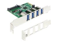 Delock PCI Express Card   4 x USB 3.0 - USB-Adapter