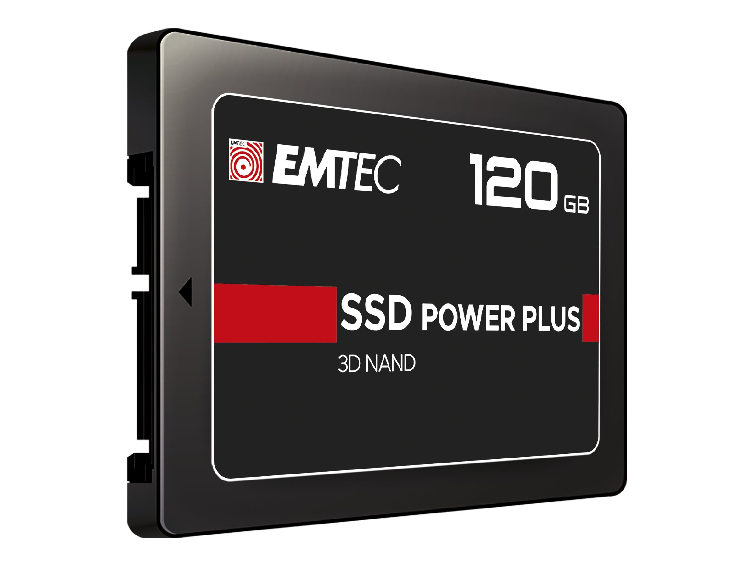 "EMTEC X150 Power Plus 3D NAND - 120 GB SSD - intern - 2.5"" (6.4 cm)"