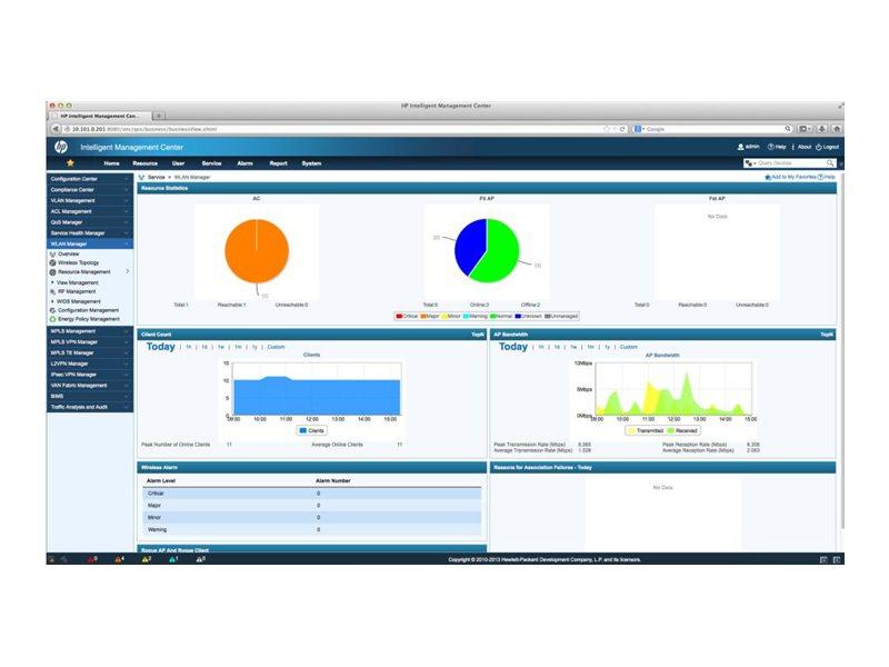 HP Upgrade PCM Mobility Manager E-Lizenz (JG769AAE)