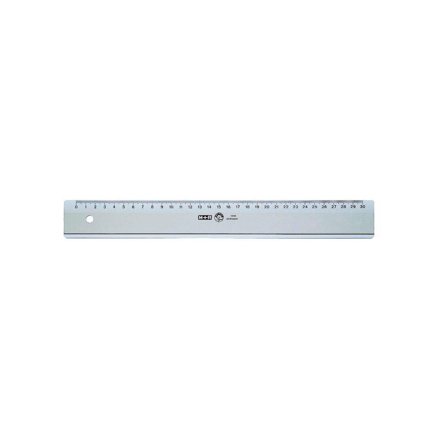 Möbius   Ruppert 1030 - 0000 - Schreibtisch-Lineal - Polystyrene - Transparent - cm - Deutschland - 30 cm