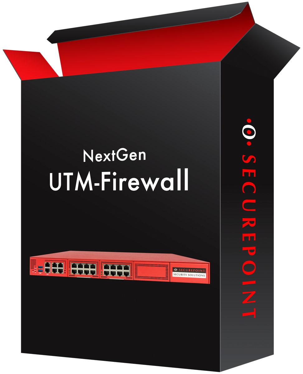 Securepoint SP-UTM-11001 - Software - Firewall/Security