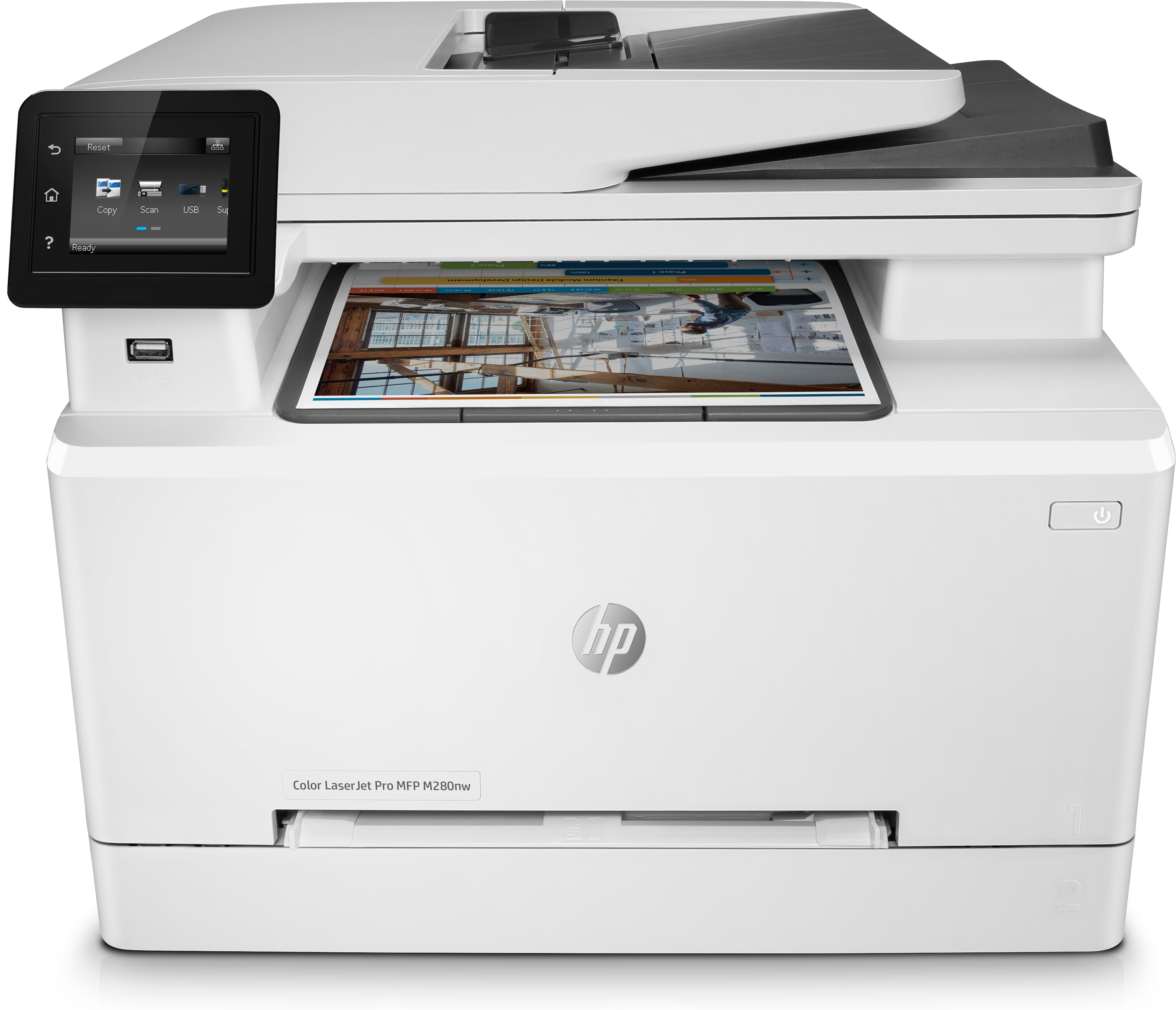 HP Color LaserJet Pro MFP M280nw, Farblaser, MFP, A4