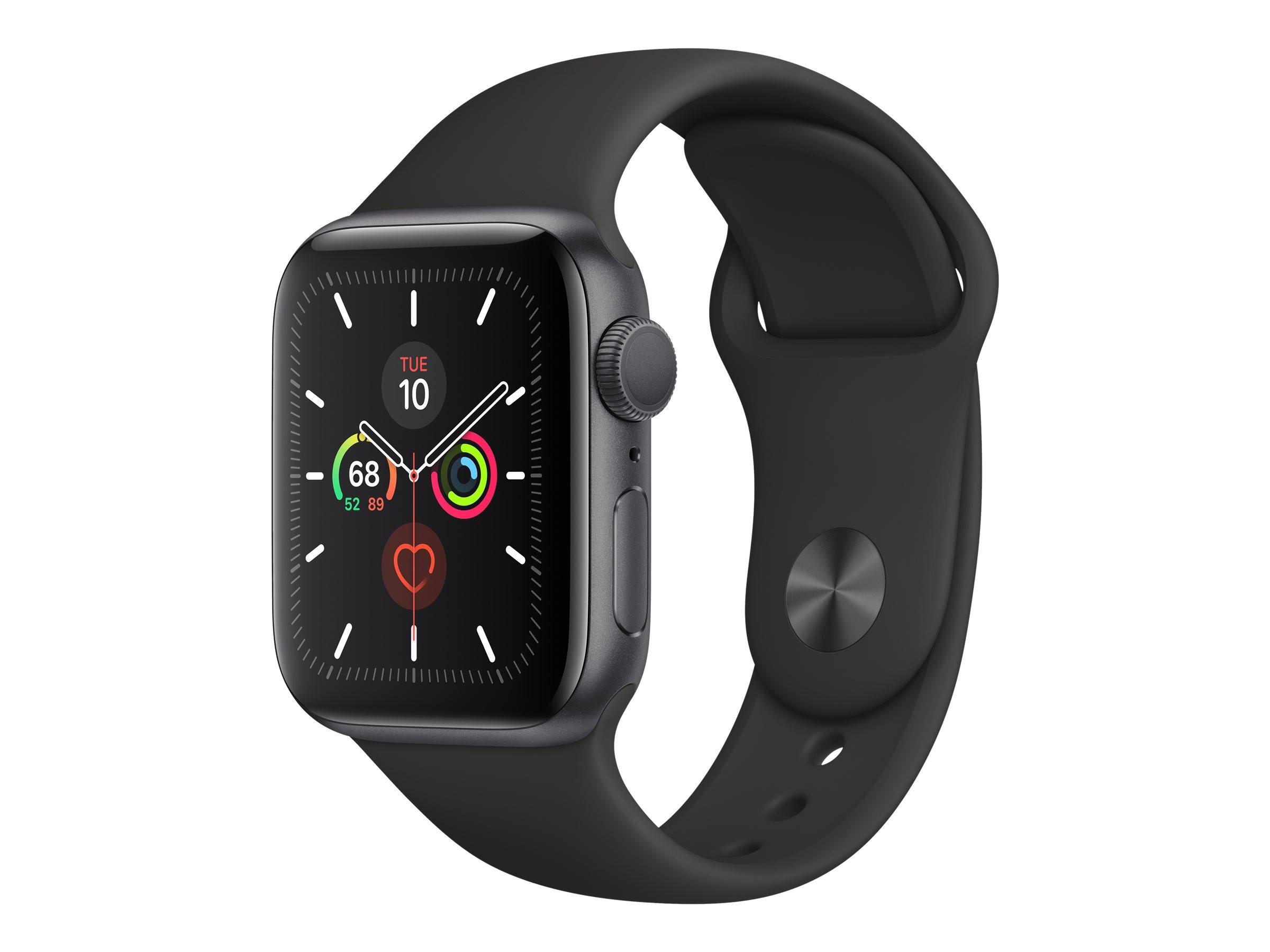 Apple Watch Series 5 (GPS) - 40 mm - Weltraum grau Aluminium