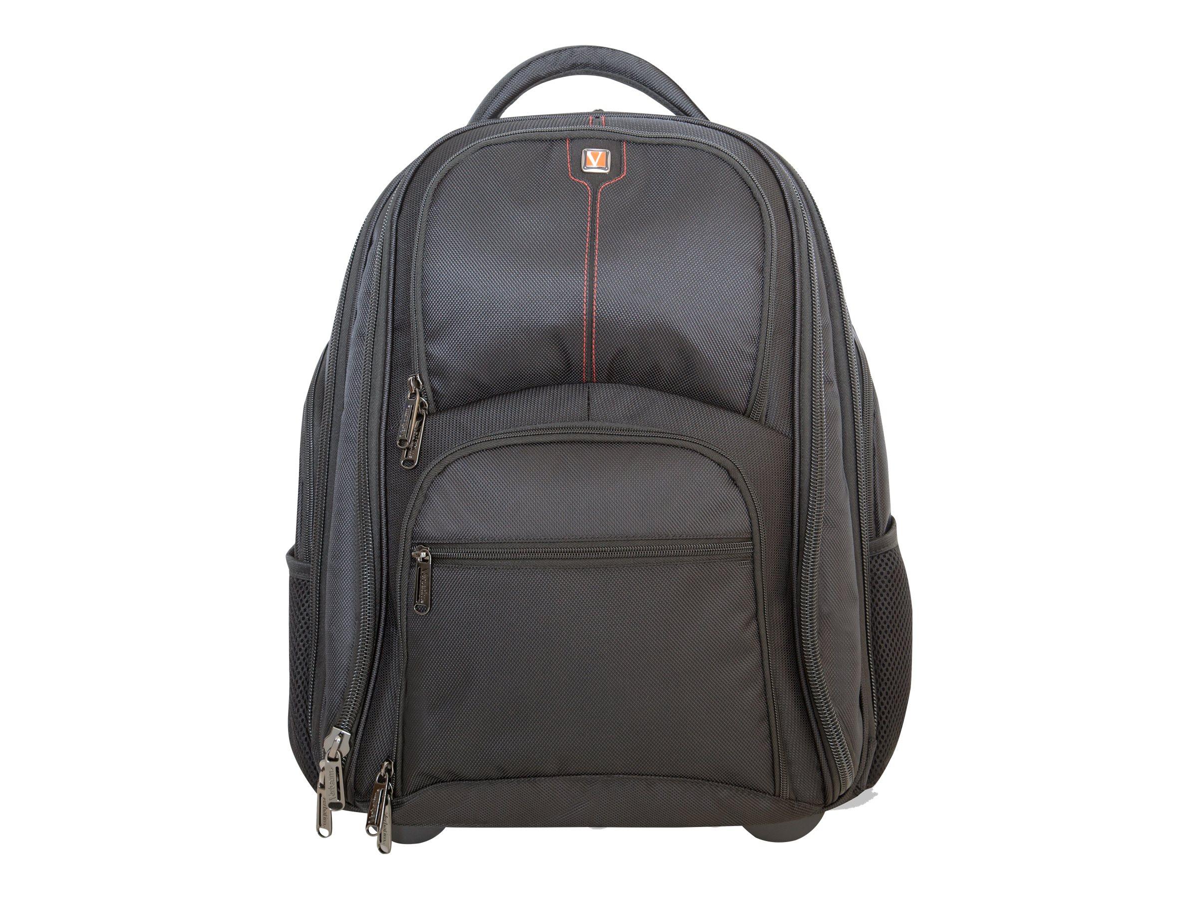 "Verbatim Paris Backpack Roller 17"" - Notebook-Tasche"