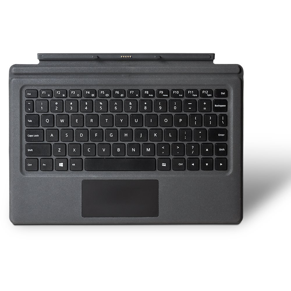 Wortmann 1480048 QWERTZ Deutsch Schwarz - Grau Tastatur für Mobilgeräte