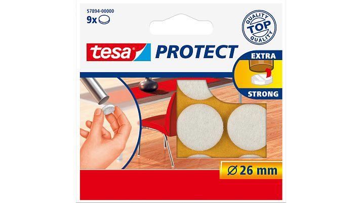 Tesa Protect - Weiß - Rund - 2,6 cm - 9 Stück(e)