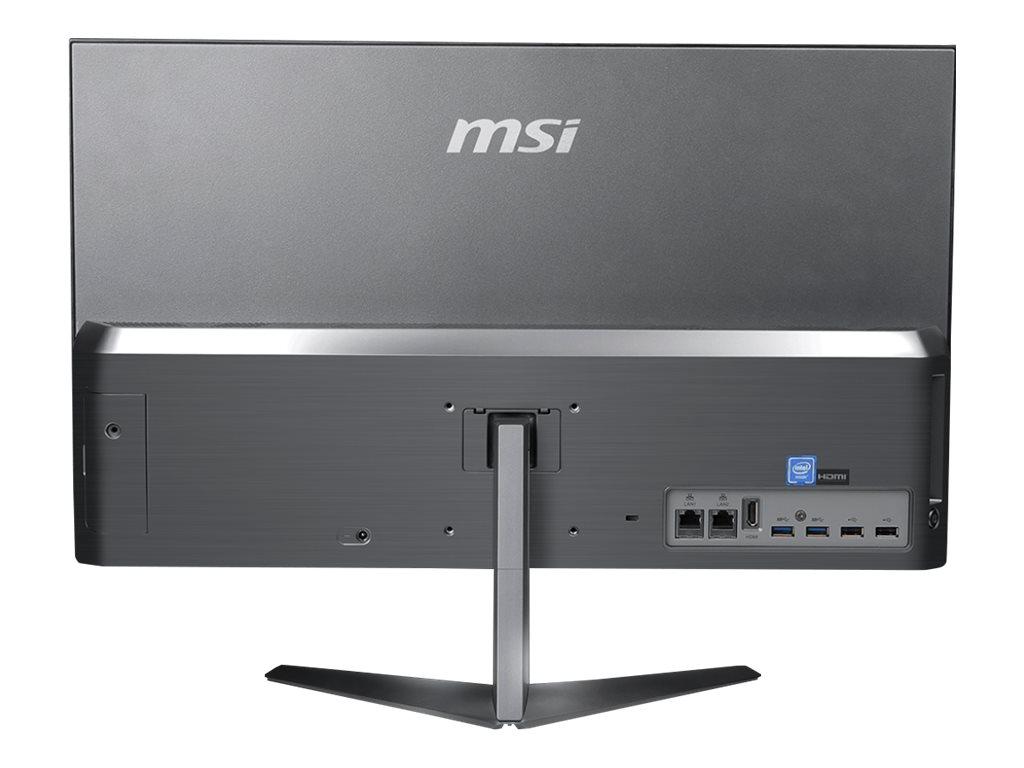 "MSI Pro 24X 10M 050DE - All-in-One (Komplettlösung) - Core i7 10510U / 1.8 GHz - RAM 16 GB - SSD 512 GB - NVMe - UHD Graphics - GigE - WLAN: 802.11ac, Bluetooth 5.0 - Win 10 Pro - Monitor: LED 60.5 cm (23.8"")"
