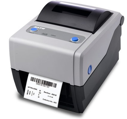 SATO CG412TT Wärmeübertragung 305 x 305DPI Etikettendrucker