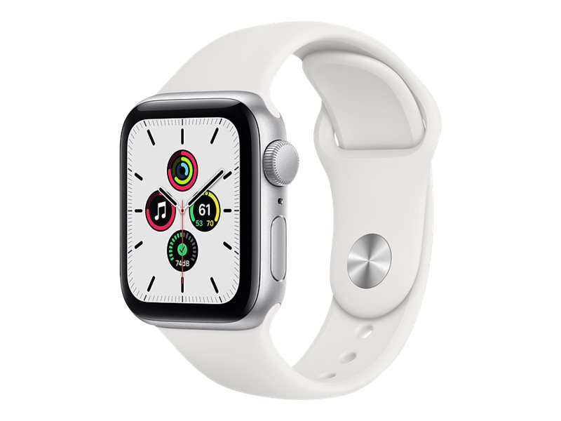 Apple Watch SE (GPS) - 40 mm - Aluminium, Silber