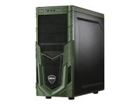 Military Gaming 5479 4.2GHz i7-7700K Tower Schwarz - Grün PC