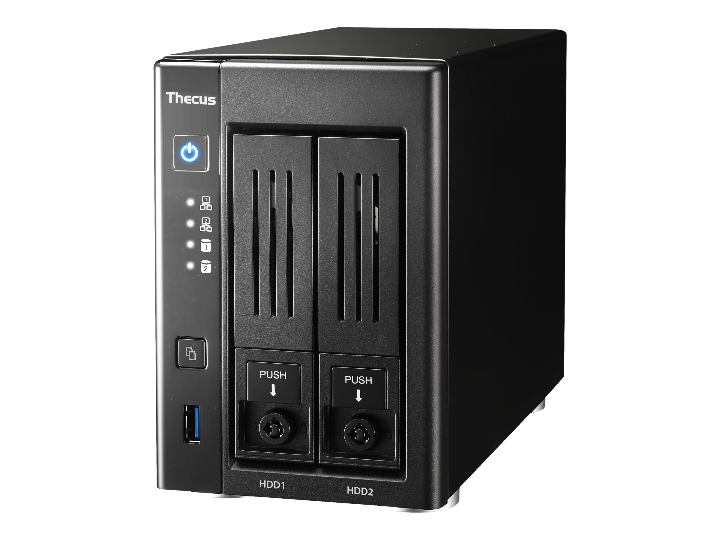 Thecus Technology N2810PRO - NAS-Server