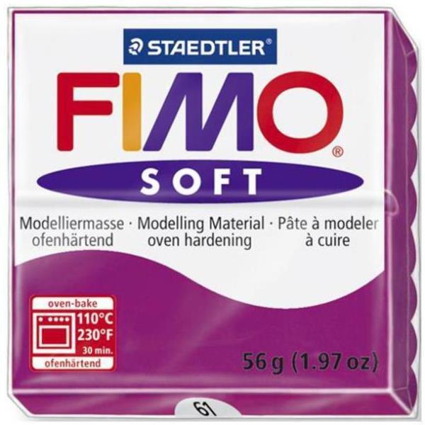 Vorschau: STAEDTLER FIMO soft - Knetmasse - Violett - 110 °C - 30 min - 56 g - 55 mm