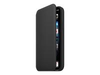 Folio - Flip-Hülle für Mobiltelefon - Leder