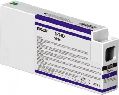Epson T824D - 350 ml - violett