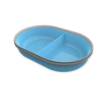 Segula 70927 - Universal - Kunststoff - Blau - Grau - Haustier-Fütterungsschale - Einfarbig - 0,4 l