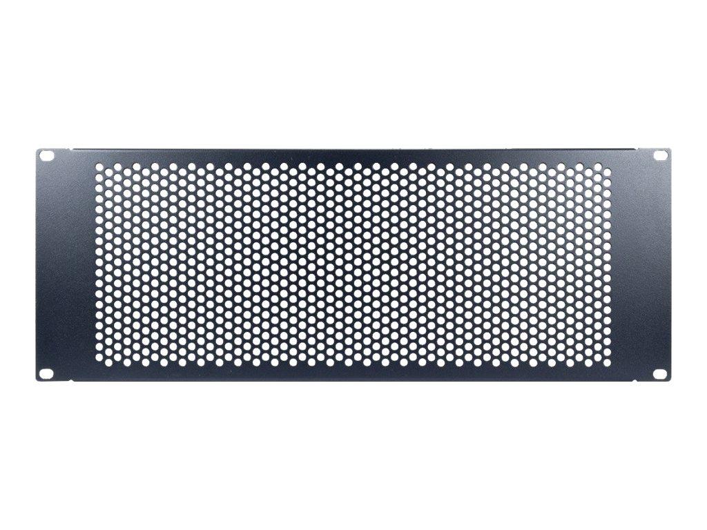 "Inter-Tech PINHOLE APERTURE - Blindplatte - RAL 9005 - 4U - 48.3 cm (19"")"