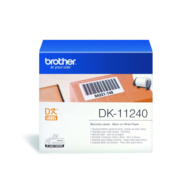 Brother DK-11240 Druckeretikette