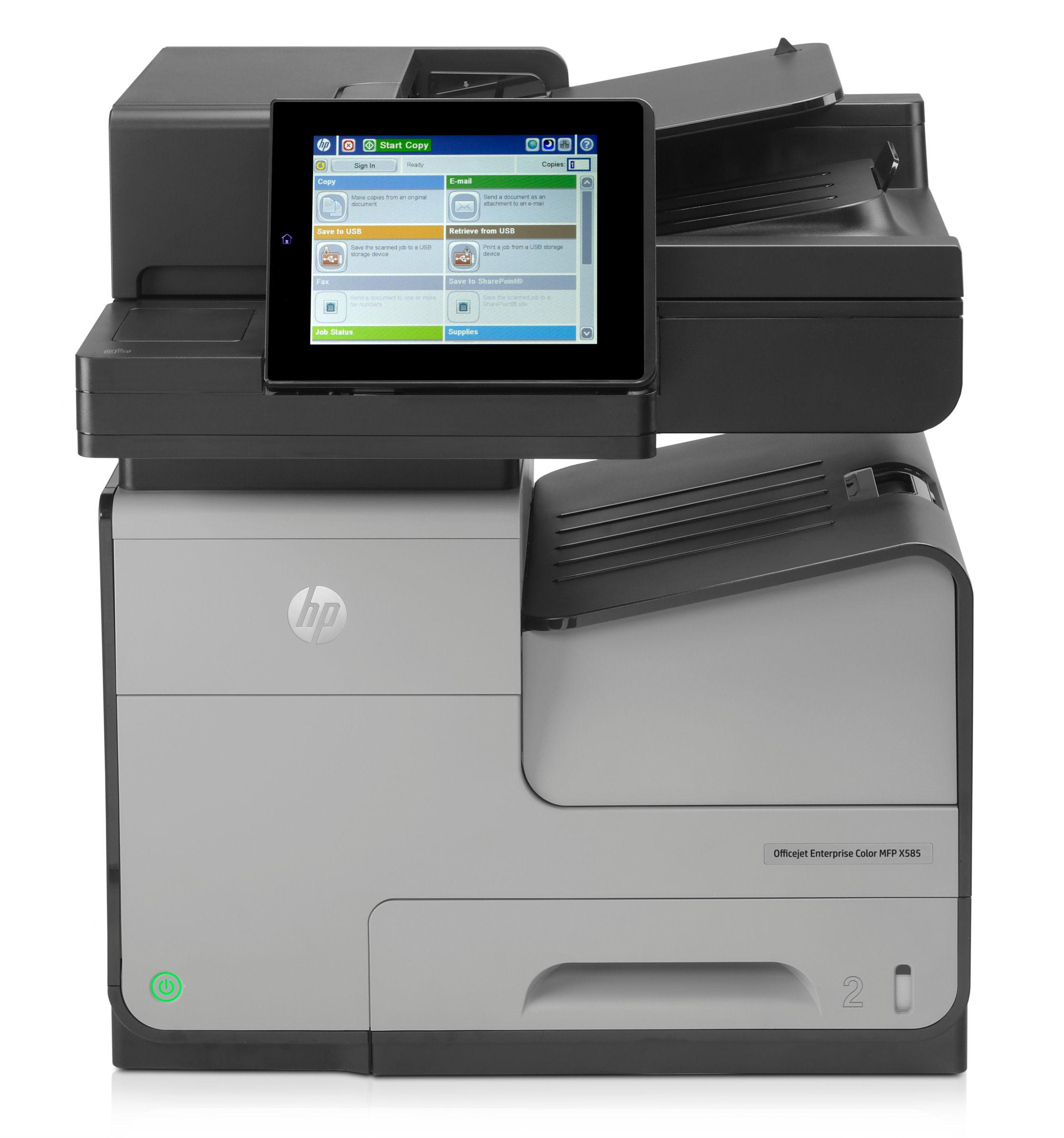 HP OfficeJet Enterprise Color-MFP X585f