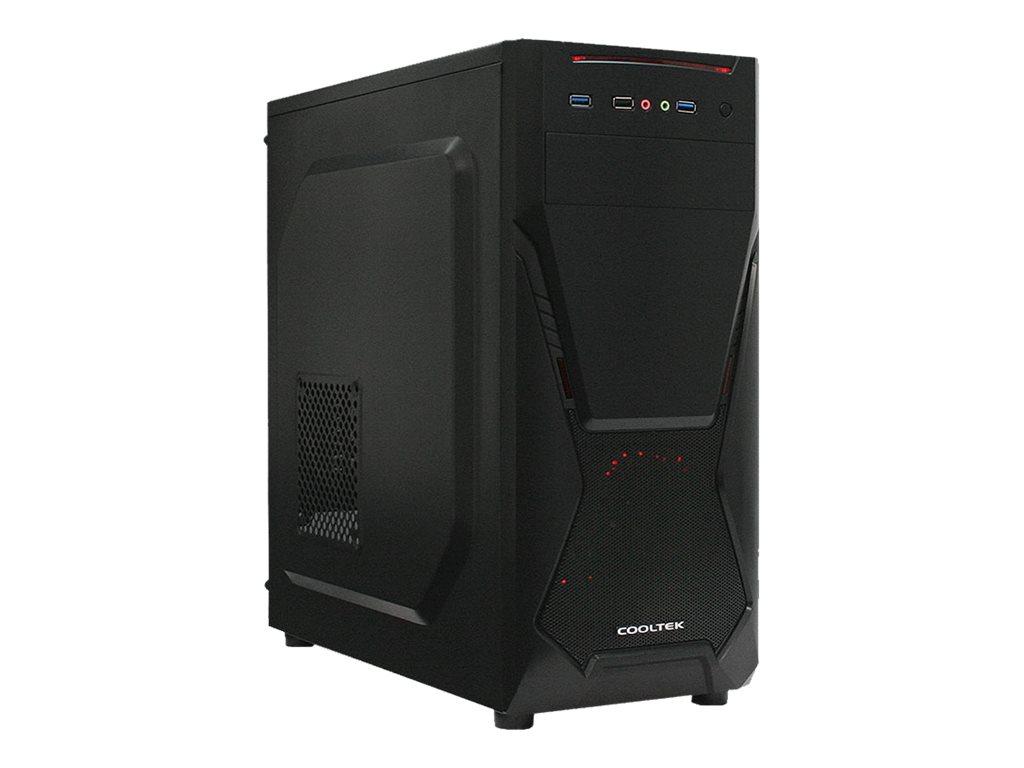 PC-Cooling Cooltek X-Series X5 - Tower - ATX - ohne Netzteil (ATX)