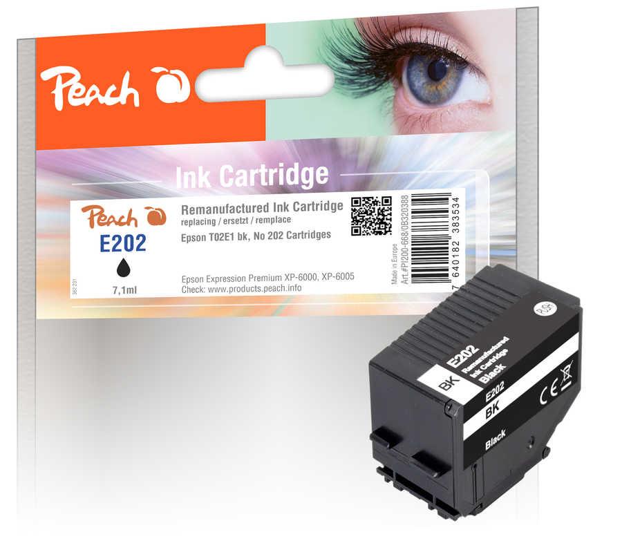 Peach Patrone Epson No. 202 bk PEA T02E1 REM FW