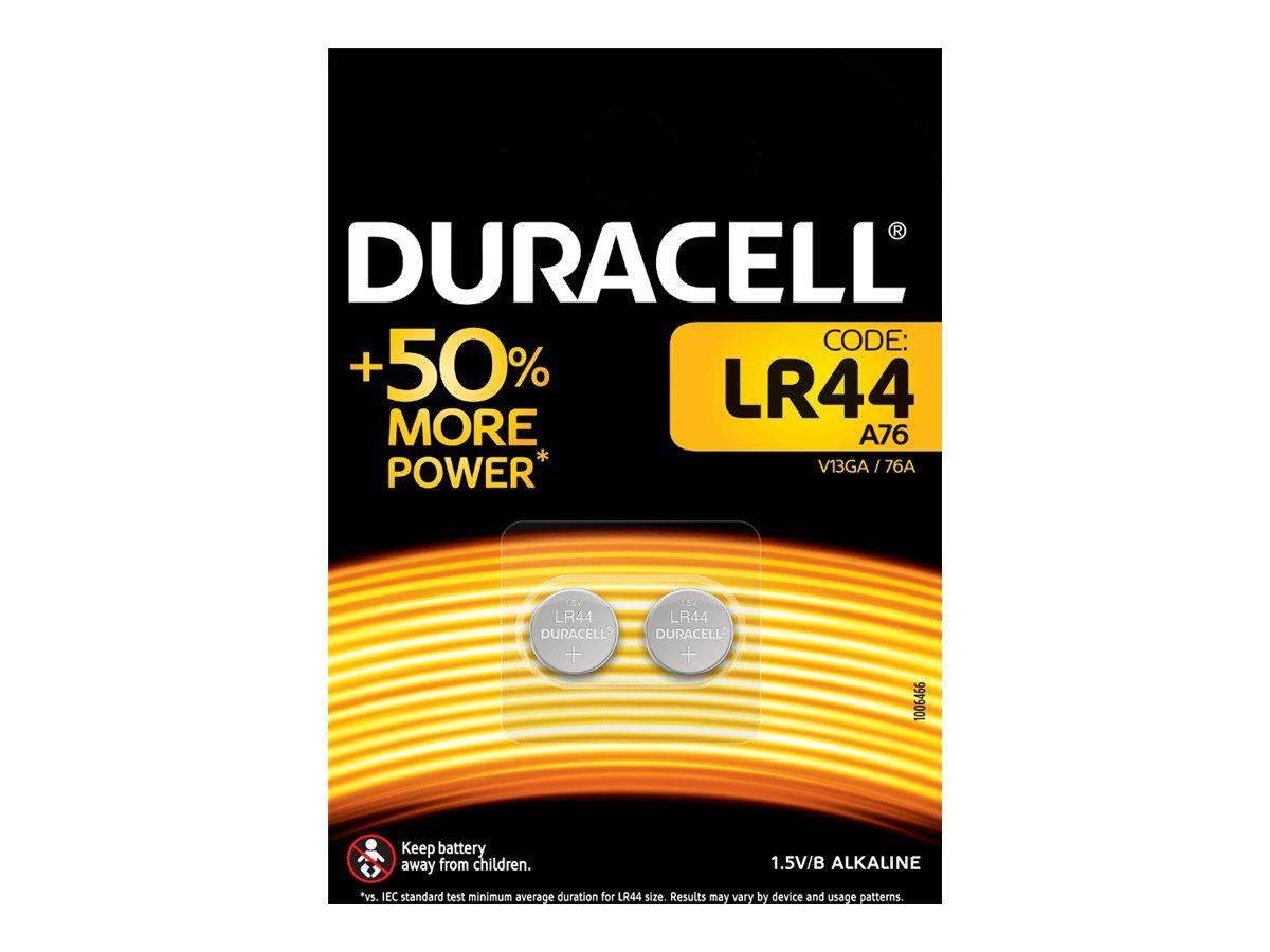 Duracell Electronics LR44 - Batterie 2 x LR44