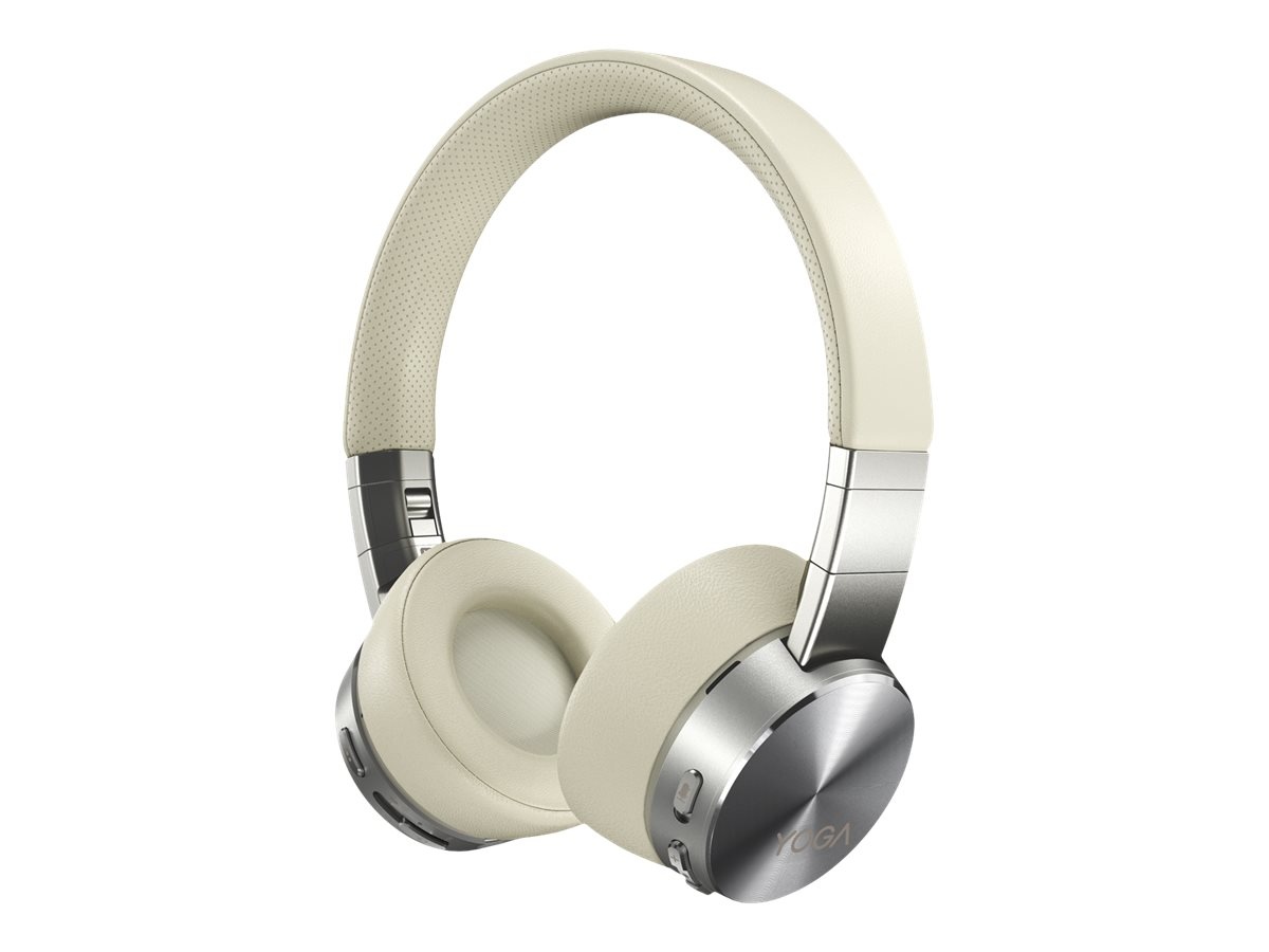 Lenovo Yoga - Kopfhörer mit Mikrofon - On-Ear - Bluetooth - kabellos - aktive Rauschunterdrückung - Mica - für ThinkPad P1 (3rd Gen)