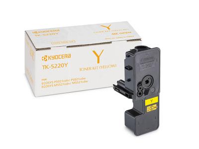 Kyocera TK-5220Y Lasertoner 1200Seiten Gelb