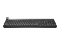 Craft Tastatur RF Wireless + Bluetooth QWERTZ Deutsch Schwarz - Grau