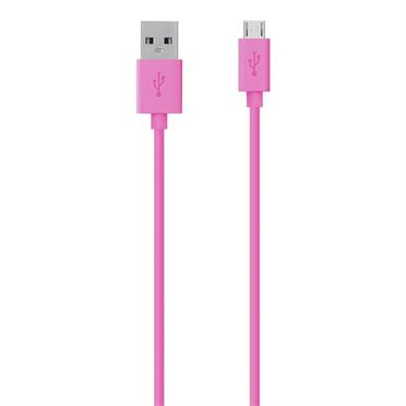 Belkin USB 2.0/Mikro-USB-Kabel- 2 m, pink