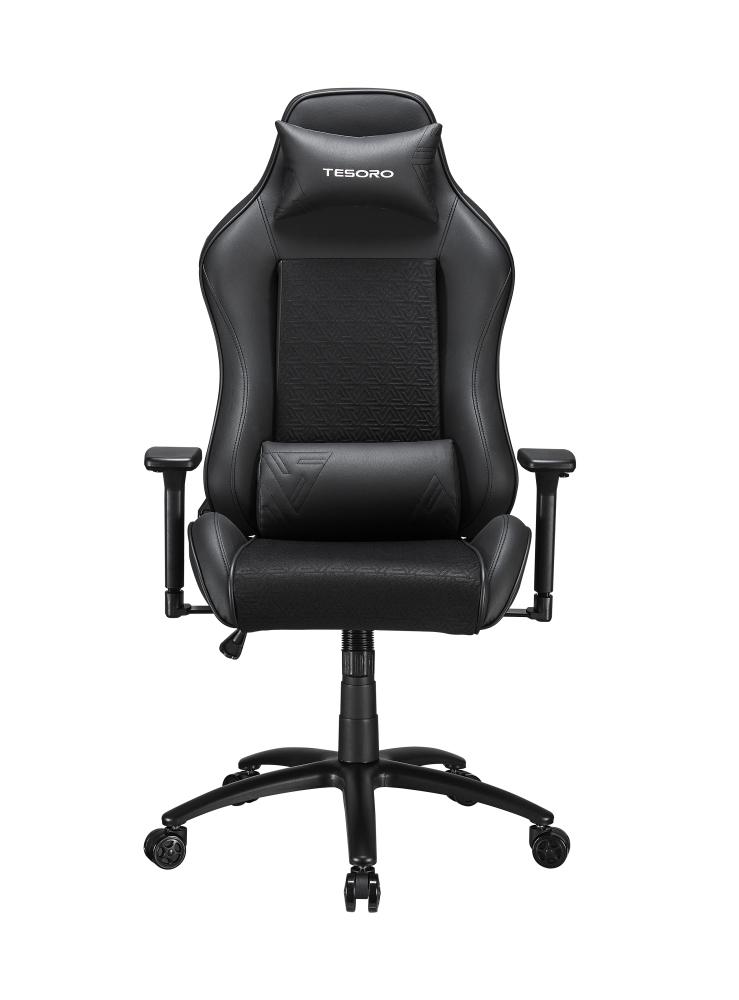Tesoro Technology Tesoro ALPHAEON S2 - Universal-Gamingstuhl - Universal - 120 kg - Netz-Sitz - Netz-Rückenlehne - Schwarz