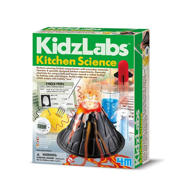 4m Kidzlabs Kitchen Science - Experimentier-Set - Chemie - Junge - 8 Jahr(e) - Mehrfarben