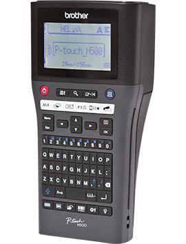 Brother P-touch H500 Beschriftungsgerät - Etiketten-/Labeldrucker - Thermotransferdruck
