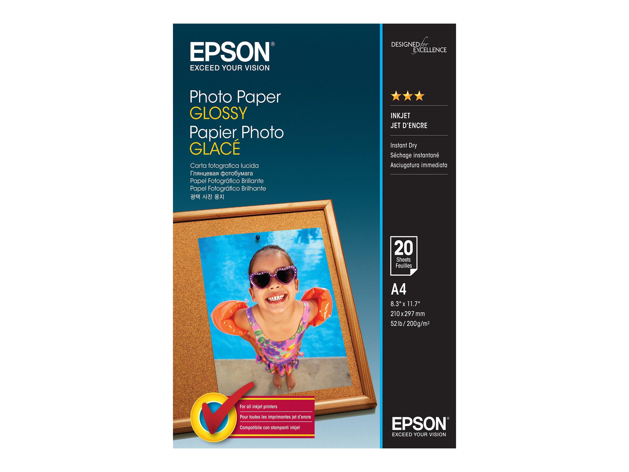Epson Glänzend - A4 (210 x 297 mm)