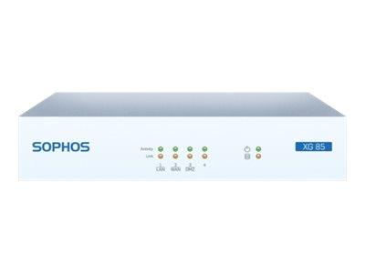 Sophos XG 85w - Sicherheitsgerät - mit 1 year EnterpriseProtect
