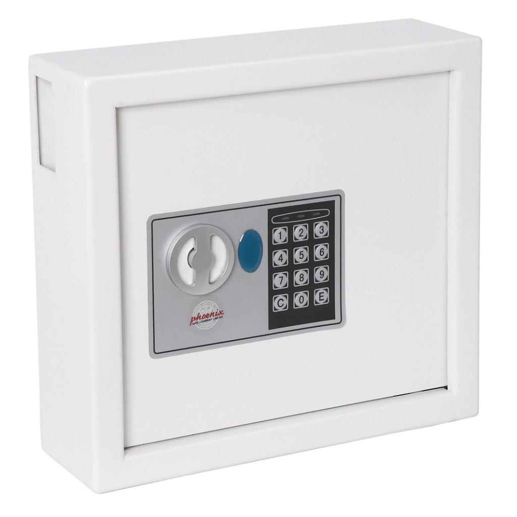 Phoenix Safe Co. KS0031E MKII - Weiß - 300 x 100 x 280 mm