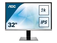 Pro-line U3277PWQU Computerbildschirm 80 cm (31.5 Zoll) 4K Ultra HD LCD Flach Matt Schwarz