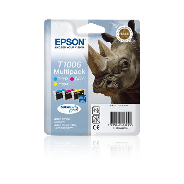 Epson-C13T10064020-Rhino-Multipack-3-colours-T1006-DURABrite-Ultra-Ink